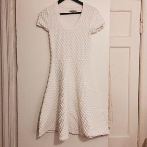 Zac Posen white textured dress, xsmall